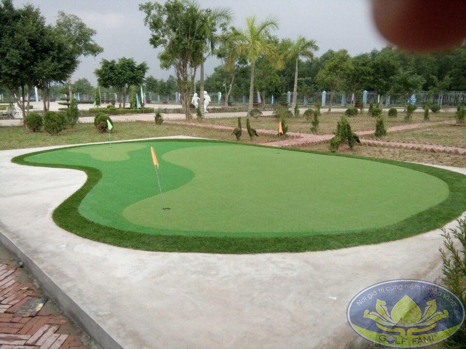 Dự án thiết kế thi công sân golf mini của Golffami