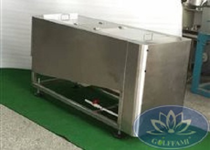 Máy rửa bóng golf Hàn Quốc inox