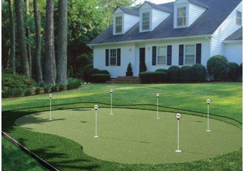 Thiết kế thi công mini golf biệt thự