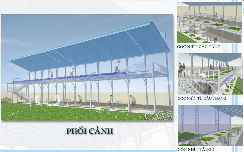Mô hình xây dựng sân tập golf phổ biến tại Việt Nam