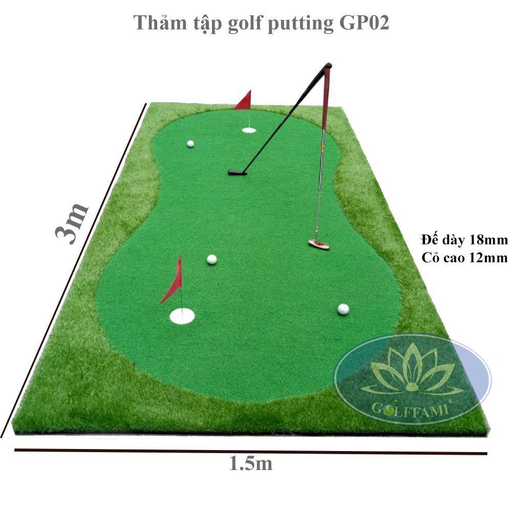 Thảm tập golf putter