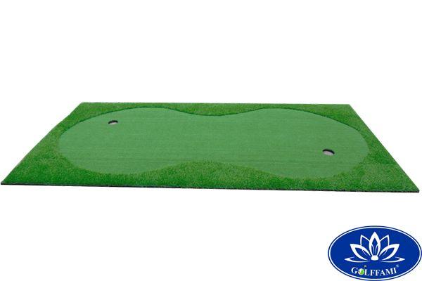 Thảm tập golf putting Gomip27 nằm ngang