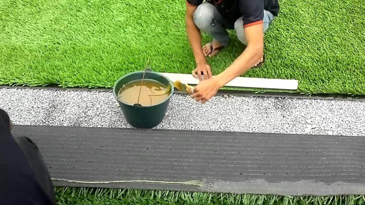 Báo giá thi công cỏ nhân tạo