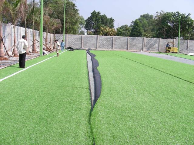 Báo giá thi công cỏ nhân tạo san bóng đá, sân tennis, sân golf,