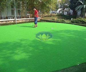 Thi công cỏ sân golf
