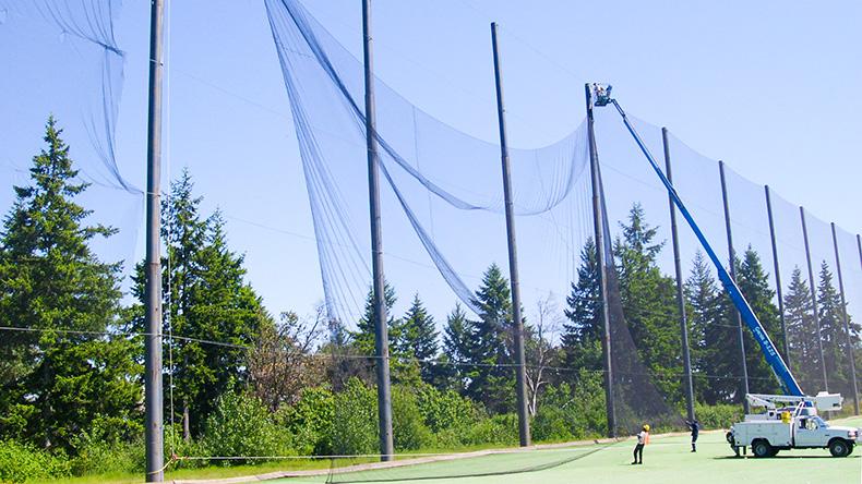 Thi công bảo dưỡng lưới sân golf chuyên nghiệp