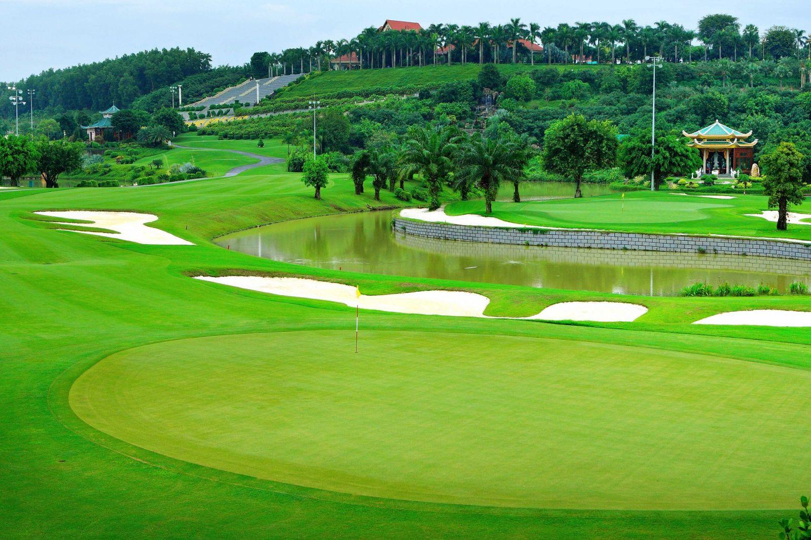 Quy trình thiết kế thi công sân golf