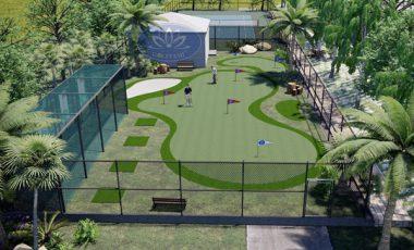 Thiết kế thi công sân tập golf