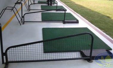 Vách ngăn sân tập golf bằng sắt không gương