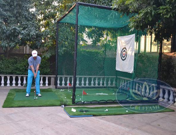 khung tập swing và lưới golf
