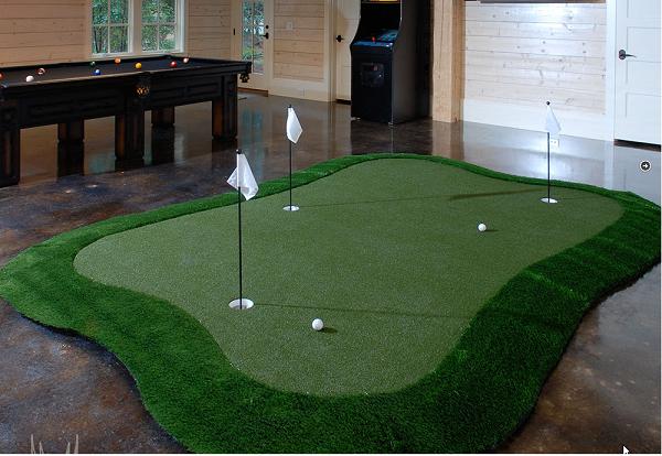 tập golf trong nhà