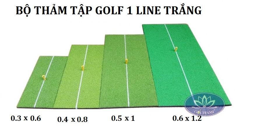 Thảm tập golf 1 line