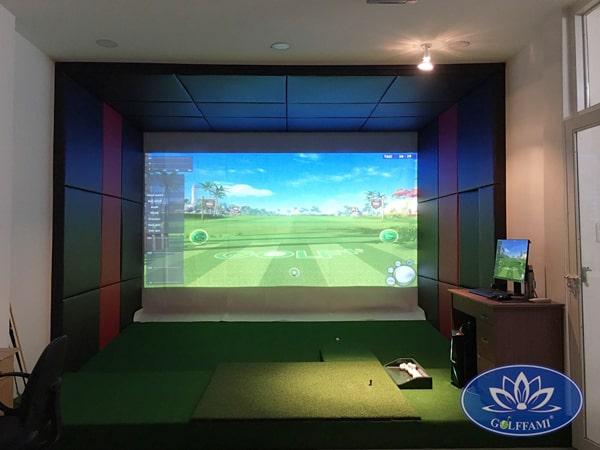 Thi công phòng golf 3D uy tín chất lượng