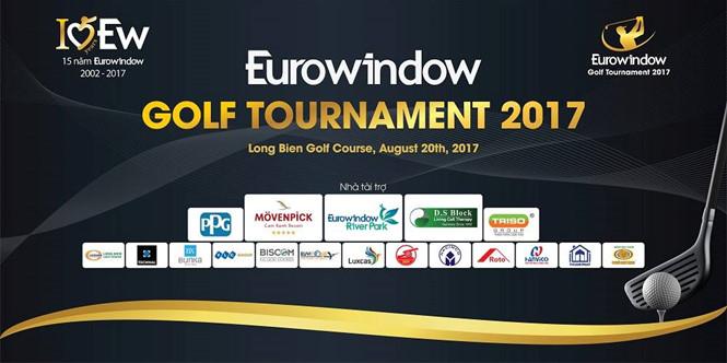 Giải Golf Eurowindow Tournament với tổng giải thưởng lên tới 7 tỉ VNĐ