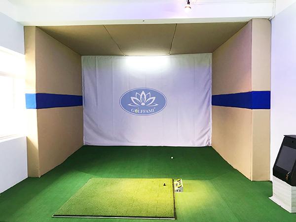 Golffami lắp đặt phòng golf 3D cho đại học TDTT Bắc Ninh
