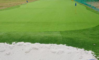 Dịch vụ thi công sân tập golf Trường Phú Thuận