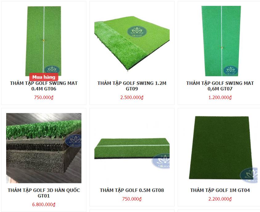 Bán thảm tập golf TP. Hồ Chí Minh giá rẻ