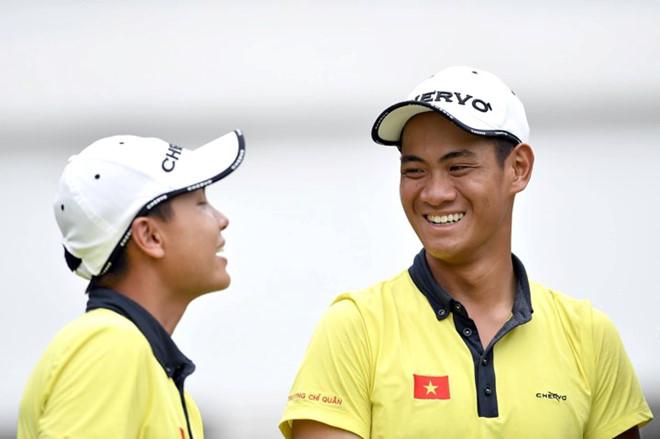 Thành tích tốt nhất của làng Golf Việt tại SEA Games 29 ngày 23/8