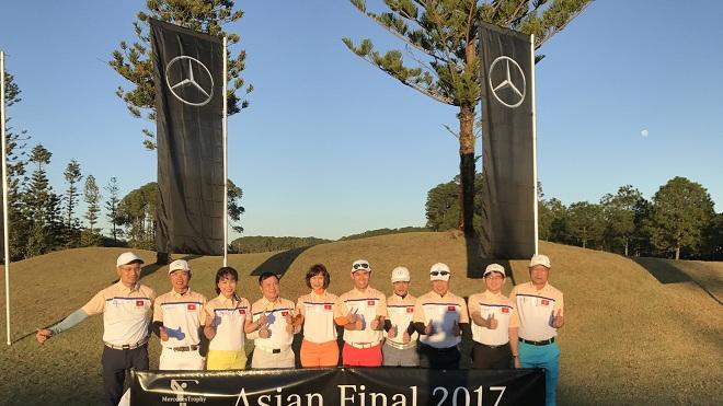 chung kết châu Á MercedesTrophy 2017