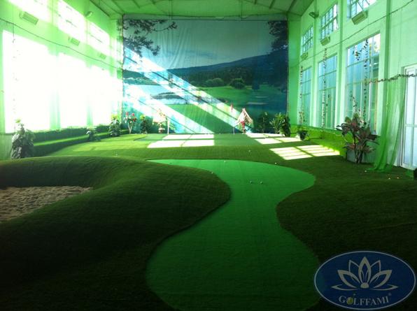 Dự án thi công phòng tập golf 3d Lào Cai