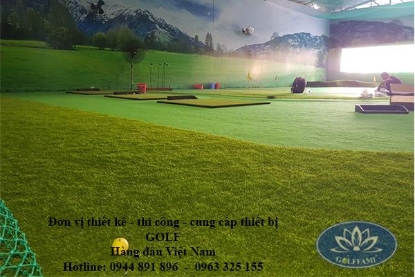 Phòng tập golf 3d