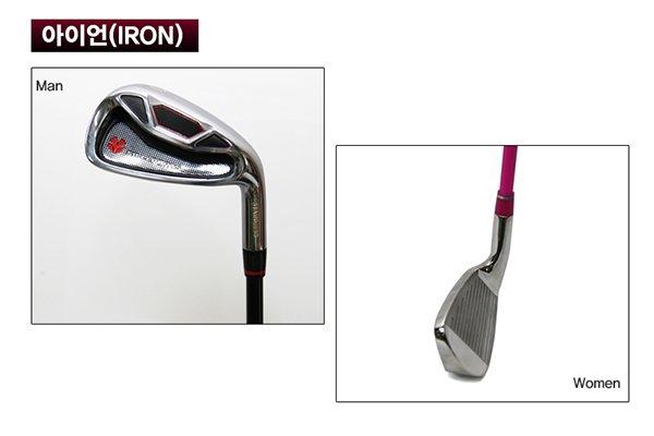 Bộ gậy golf Hàn Quốc 4 Chi tiết gậy sắt