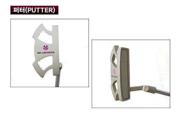 Bộ gậy golf Hàn Quốc 4 Chi tiết gậy gạt