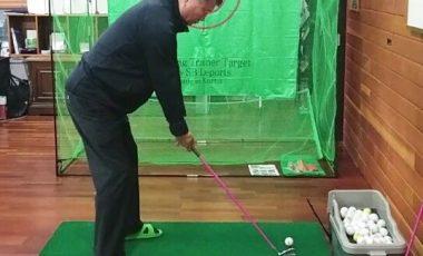 Bộ khung tập golf hàn quốc tiện lợi linh hoạt