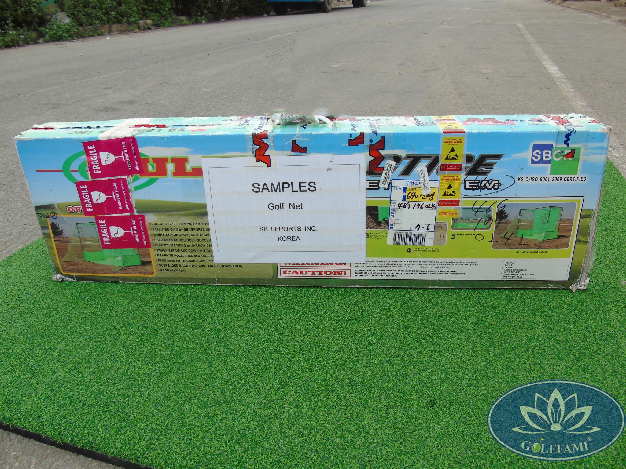 bộ khung tập golf Hàn Quốc Gomi60 nguyên hộp