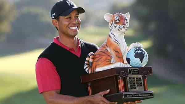 Ông hoàng làng golf Tiger Woods