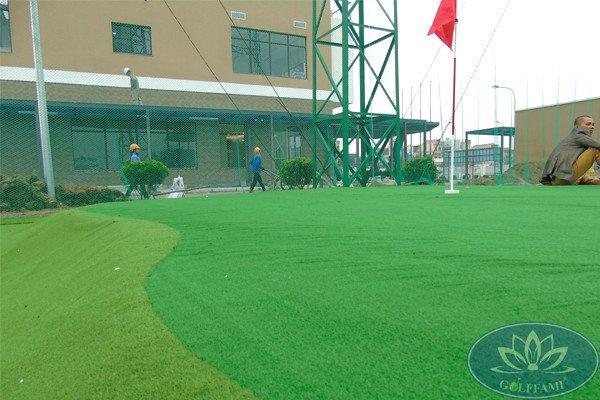 Thi công sân tập golf tại dự án chung cư Nhật Bản cho thuê Famille Hà Nam
