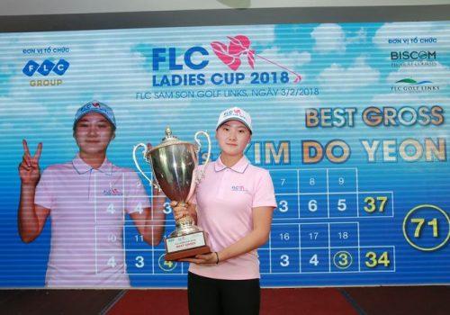 Nữ golfer 17 tuổi Hàn Quốc vô địch giải FLC Ladies Cup