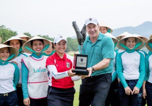 Giải golf Faldo-Series kết thúc với sự đăng quang của nữ Golfer đến từ Nhật