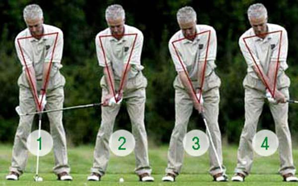 Cách cầm gậy - kỹ thuật chơi golf cơ bản