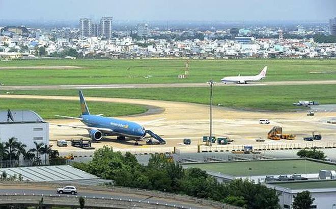 Một phần sân bay Tân Sơn Nhất