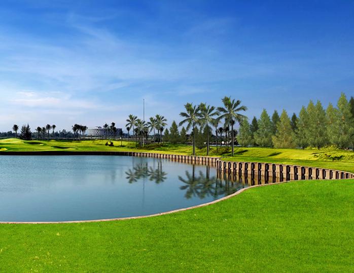 Một góc thơ mộng ở sân golf tại Đà Nẵng Bulkhead style