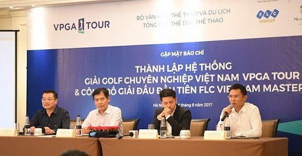 VPGA Tour - Hệ thống giải Golf chuyên nghiệp đầu tiên ở Việt Nam