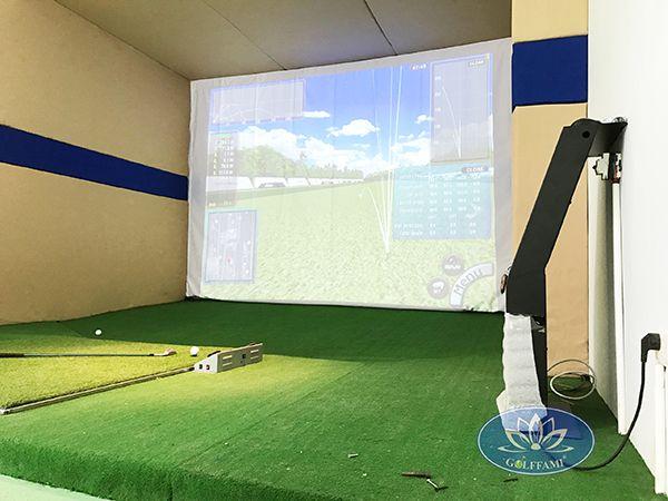 Golffami cung cấp dịch vụ cho thuê thiết bị phòng golf 3D