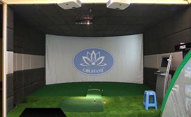 Dịch vụ làm màn chiếu Golffami chính hãng