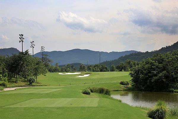 Một góc của Bà Nà Hills Golf Club
