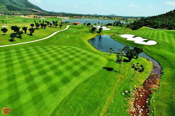 sân golf Tam Đảo