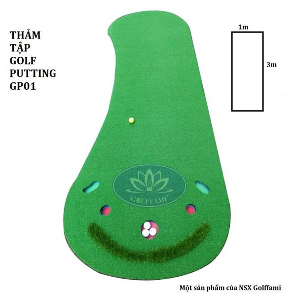 thảm tập golf Putting Gomip21