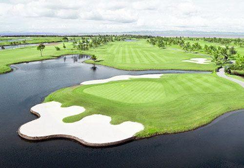 Thiết kế ấn tượng của sân golf Đồ Sơn