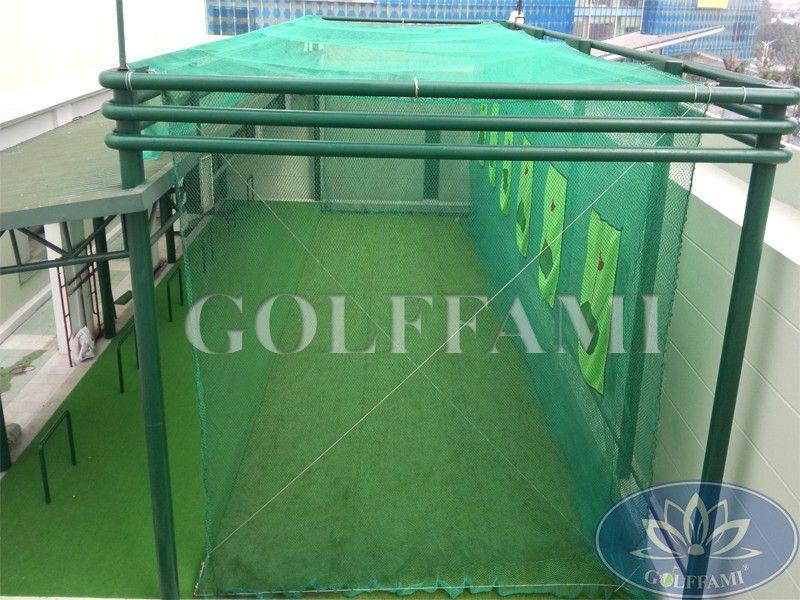 Cung cấp lưới golf, cỏ green tại sân tập golf Daewoo