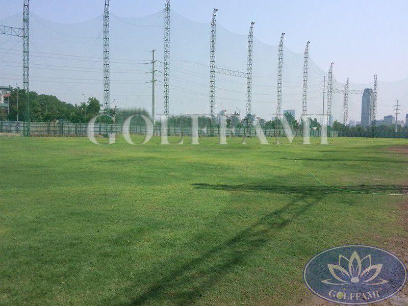 Thi công lưới golf tại sân tập golf Mỹ Đình Pearl