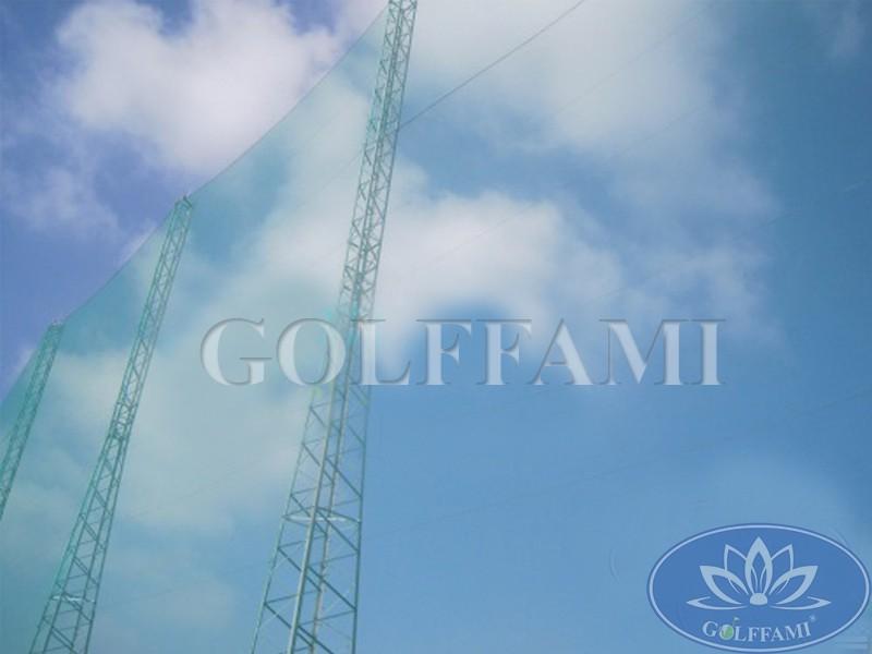 Thi công lưới golf sân tập golf Lam Kinh