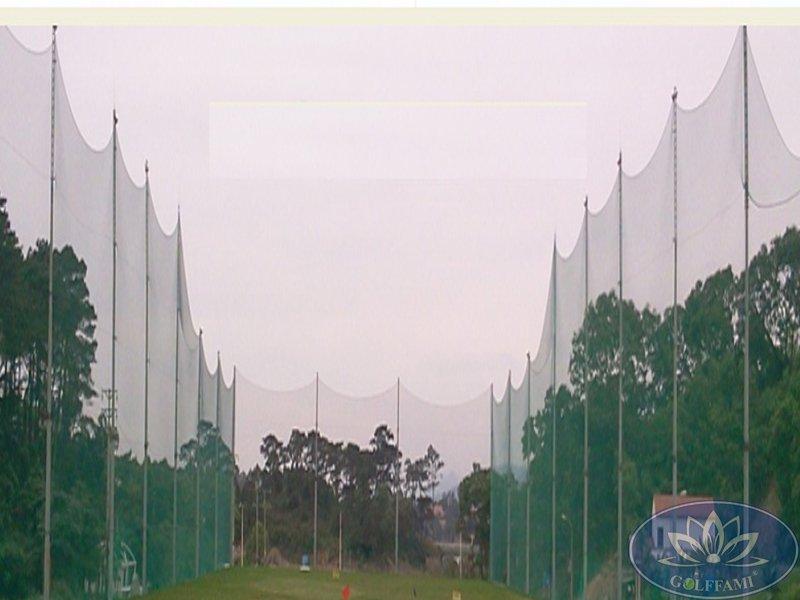 Thi công lưới golf và cung cấp các thiết bị sân tập tại sân tập golf Tuần Châu