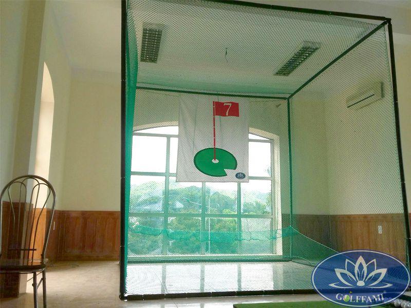 Bộ khung tập golf trong nhà