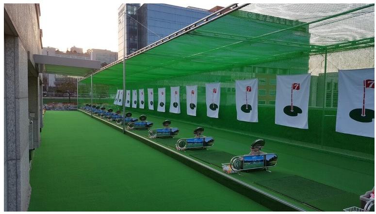 sân tập golf Camela Hải Phòng
