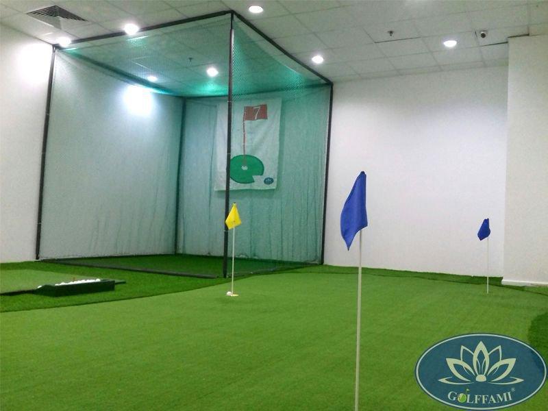 Thi công phòng tập golf trong nhà tại Hồ Chí Minh